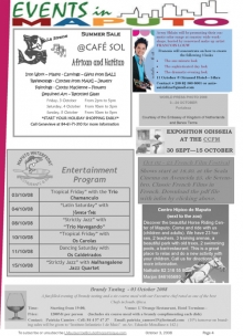 Maputo Events - October 3, 2008
